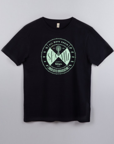 T-Shirt Radio Blu Navy
